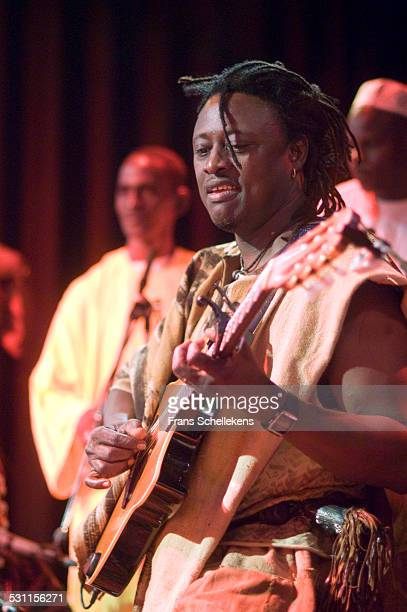 Habib Koite, guitar and vocals, performs at the Melkweg on June 26th 2004 in Amsterdam, the Netherlands.