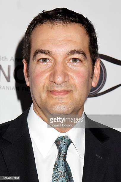 Habib Zargarpour attends the 5th annual Noor Iranian Film Festival awards ceremony at Skirball Cultural Center on August 8 2012 in Los Angeles...