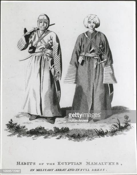 Habits of the Egyptian Marmalukes in military array and in full dress