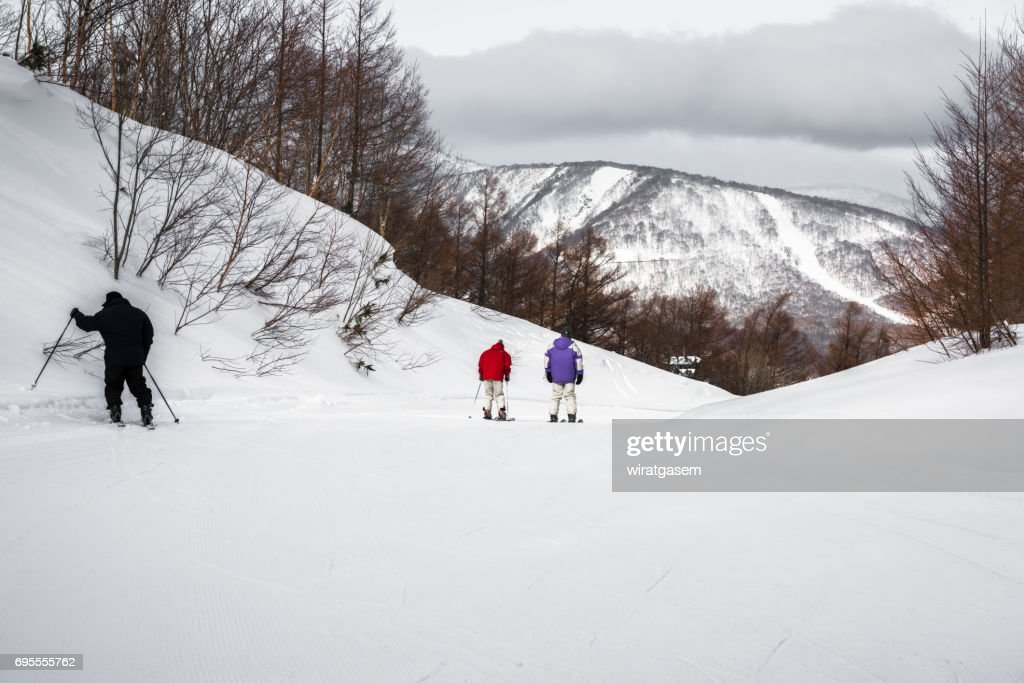 Hachimantai Ski Resort : Foto de stock