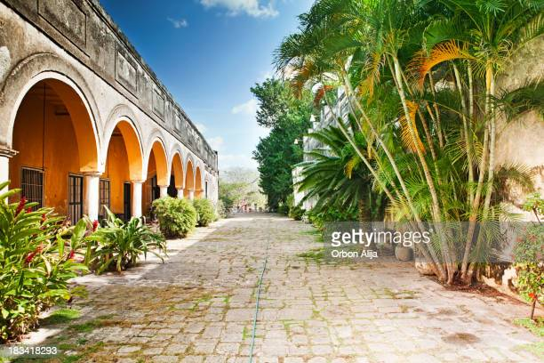 hacienda yaxcopoil - mexico stock photos and pictures
