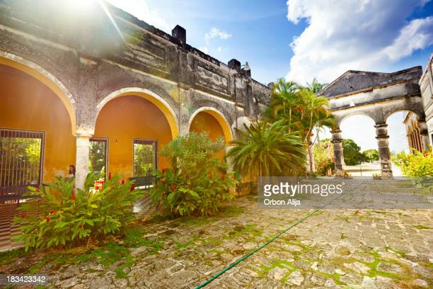hacienda yaxcopoil - yucatan stock pictures, royalty-free photos & images