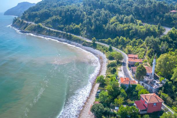 Haciveli Beach, Abana, Kastamonu, Black Sea Region, Turkey