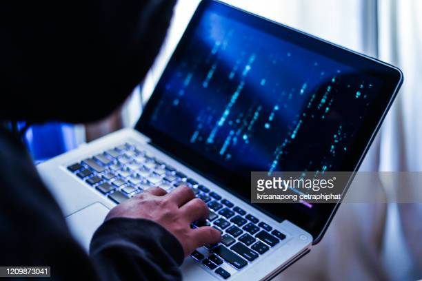 hacker concept,hacker attacking internet. - android malware stock pictures, royalty-free photos & images