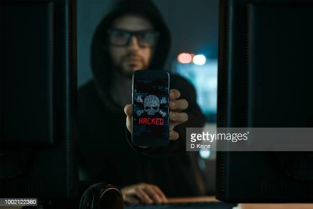 hacker - pirata informatico foto e immagini stock