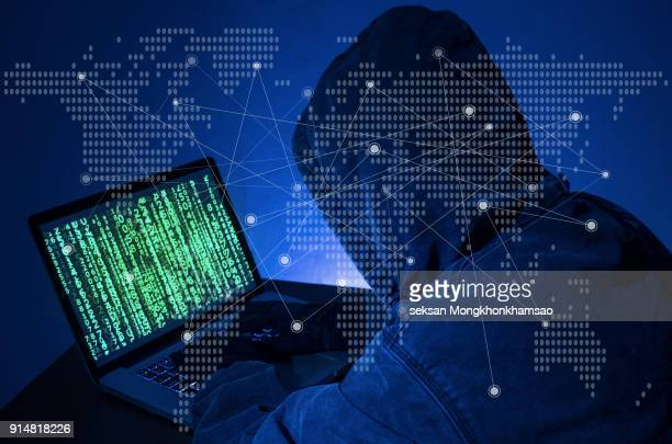 hacker - hud graphical user interface stock photos and pictures