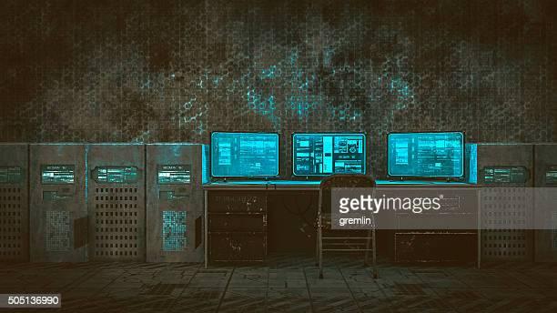 Hacker Zimmer in alten Lagerhauses
