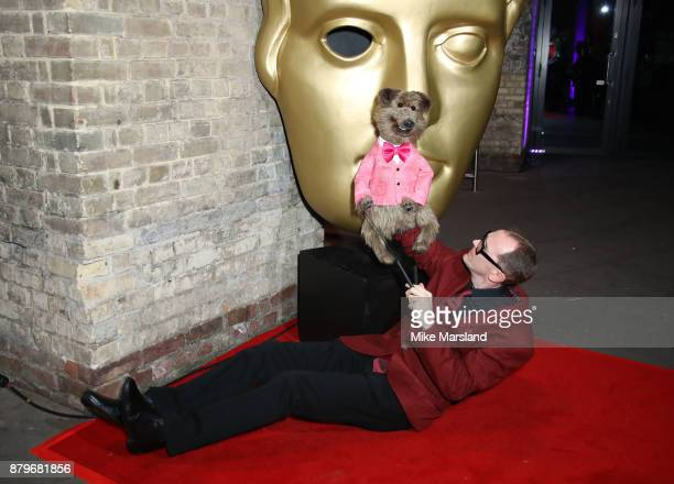 Hacker T Dog attends the BAFTA Children's awards at The Roundhouse on November 26 2017 in London England