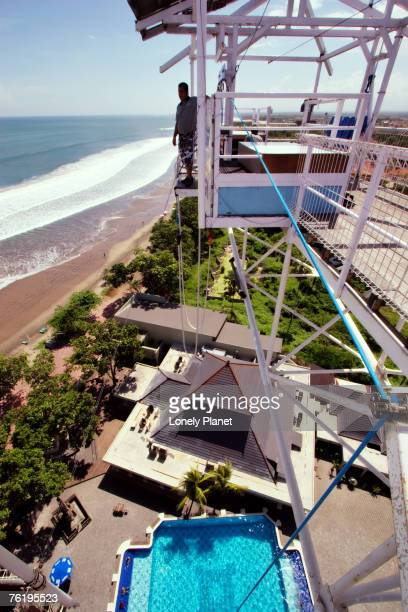 AJ Hacketts bungy jumping, Seminyak, Bali, Indonesia, South-East Asia