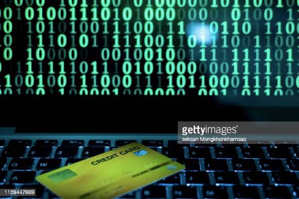 hacking credit cards - fraud protection stock pictures, royalty-free photos & images