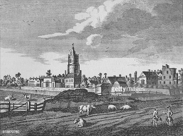 Hackney circa 1790 From London North of the Thames by Sir Walter Besant [Adam Charles Black London 1911] Artist Unknown