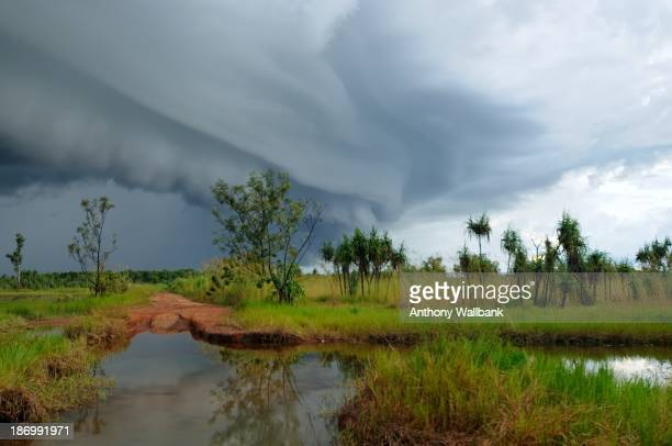 Had been out here, on the Howard River, Northern Territory, waiting for some lightning then this Shelf cloud formation rolled in. Just a few minutes...