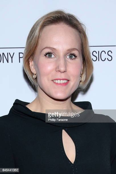 Hadewych Minis attends Sony Pictures Classics' Annual PreAcademy Awards Dinner Party at STK on February 25 2017 in Los Angeles California