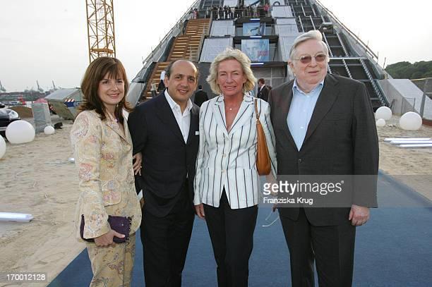 Hadi Teherani at wife Beate Angelika JahrStilcken And husband Rudolf Stilcken In The Presentation Of office chair 'Silver' From Hadi_Teherani In...