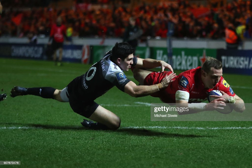 Scarlets v RC Toulon -  Champions Cup : News Photo