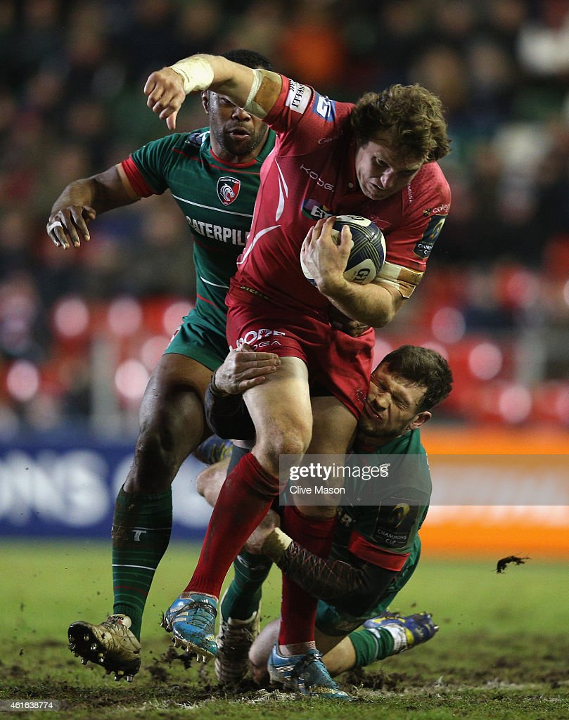Leicester Tigers v Scarlets - European Rugby Champions Cup