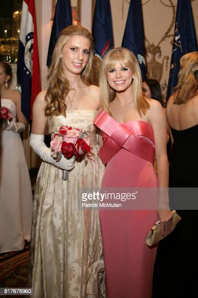 Hadley Nagel and Carlson Young attend THE 56TH INTERNATIONAL DEBUTANTE BALL at Waldorf Astoria on December 29 2010 in New York City