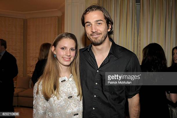 Hadley Nagel and Jamie Johnson attend TINA BROWN VICKY WARD and LA MER host a party honoring SUSAN NAGEL'S new book Marie Therese at Tina Brown and...