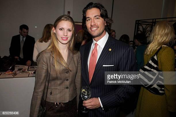 Hadley Nagel and Josh Bernstein attend 50 Fabulous Females to Benefit Love Heals at Diane von Furstenberg Studio on November 10 2008 in New York City