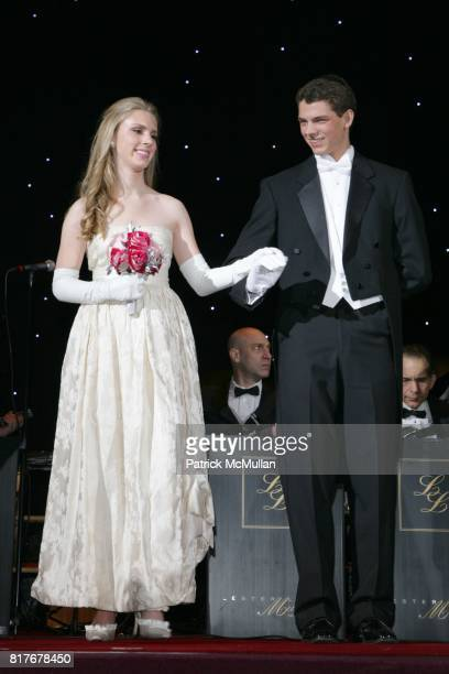 Hadley Nagel and Laurence George attend THE 56TH INTERNATIONAL DEBUTANTE BALL at Waldorf Astoria on December 29 2010 in New York City