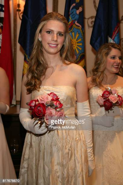 Hadley Nagel attends THE 56TH INTERNATIONAL DEBUTANTE BALL at Waldorf Astoria on December 29 2010 in New York City