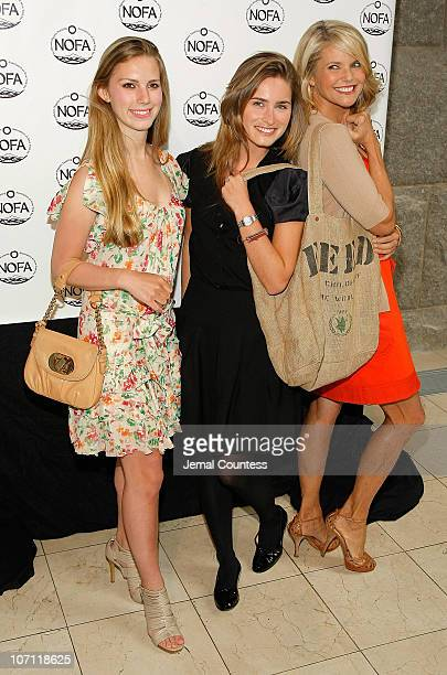 Hadley Nagel Socialite Lauren Bush and Christie Brinkley Fashion Icon and Chairman of the Northeastern Organic Farming Association of New York attend...