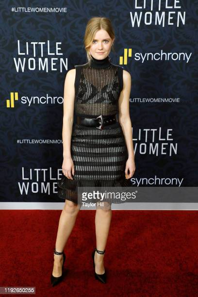 Hadley Robinson attends the world premiere of Little Women at Museum of Modern Art on December 07 2019 in New York City