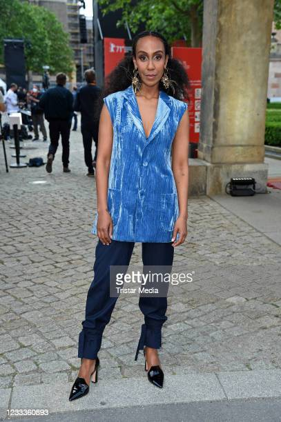 """Hadnet Tesfai attends the Opening Ceremony and """"The Mauritanian"""" premiere during the 71st Berlinale International Film Festival Summer Special at..."""