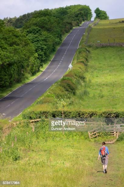 Hadrians Wall Hiker