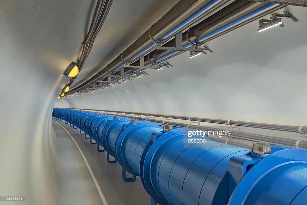 Hadron Collider : Stock Photo