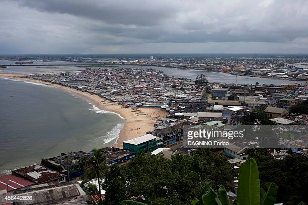 haemorrhagic epidemic of fever caused by the Ebola virus shantytown of West point and the port of of Monrovia on September 23 2014