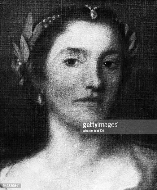 Haendel, Georg Friedrich *23.02.1685-14.04.1759+Komponist, D- die Saengerin Faustina Bordoni-Hassezur Zeit ihrer englischen Triumphe; fuer sie...