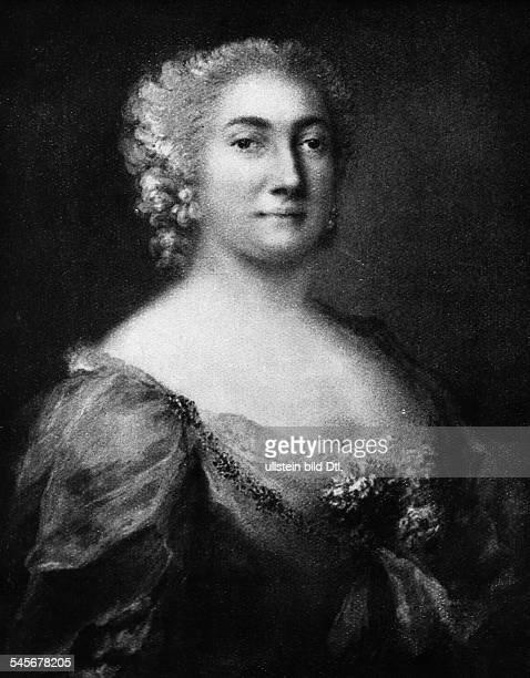 Haendel, Georg Friedrich *23.02.1685-14.04.1759+Komponist, D- die Saengerin Faustina Bordoni-Hassein spaeteren Jahren; fuer sie komponierte Haendel...