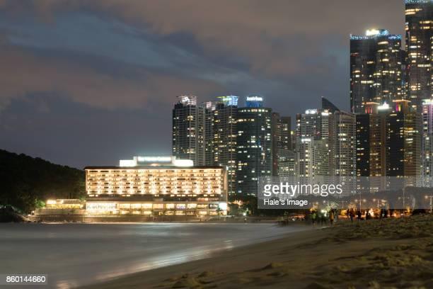 Haeundae Beach in Busan, South Korea