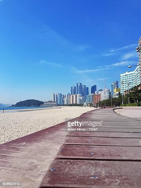 Haeundae beach, Korea