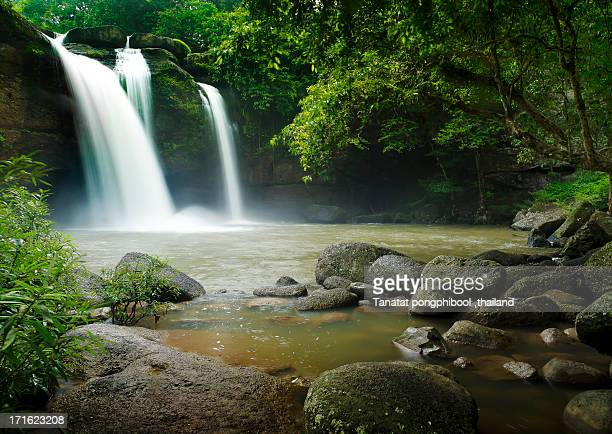 Haewsuwat Waterfall in thailand