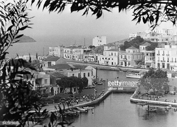 Hafen von Agios Nikolaos 1979