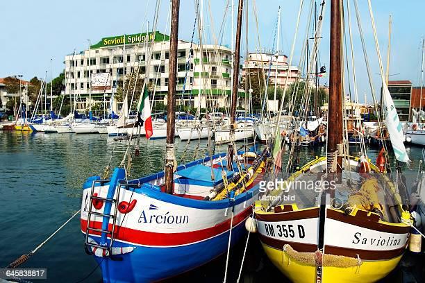 Hafen von Riccione EmiliaRomagna Italien