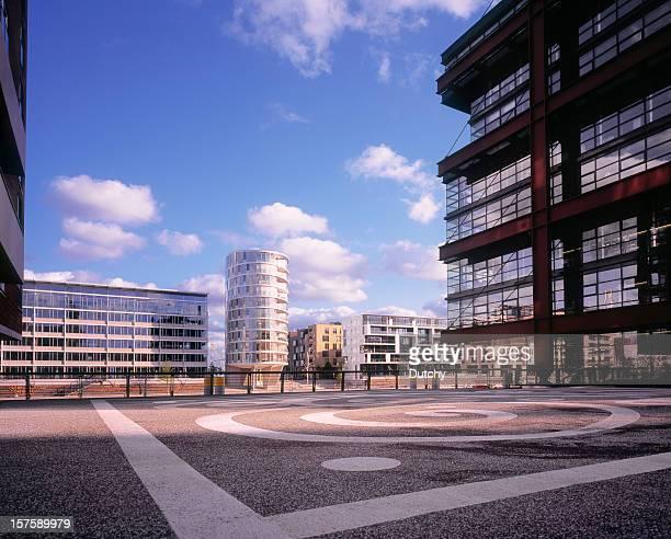 Hafencity development project in Hamburg, Germany.