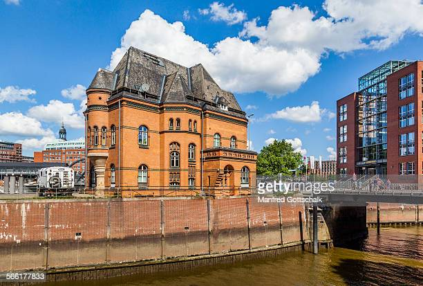 hafenpolizeiwache no. 2 hamburg - police station stock pictures, royalty-free photos & images
