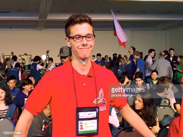 Hafez al-Assad , the eldest son of Syrian president Baschar al-Assad partakes in the Math Olympics in Rio de Janeiro, Brazil, 22 July 2017. His...