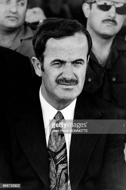 Hafez elAssad président de la Syrie en 1973