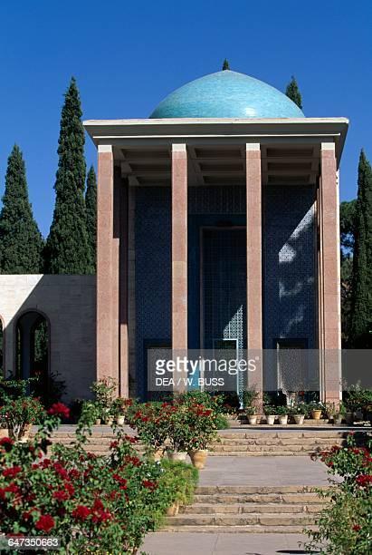 Hafezieh memorial hall of the poet Hafez Shiraz Iran