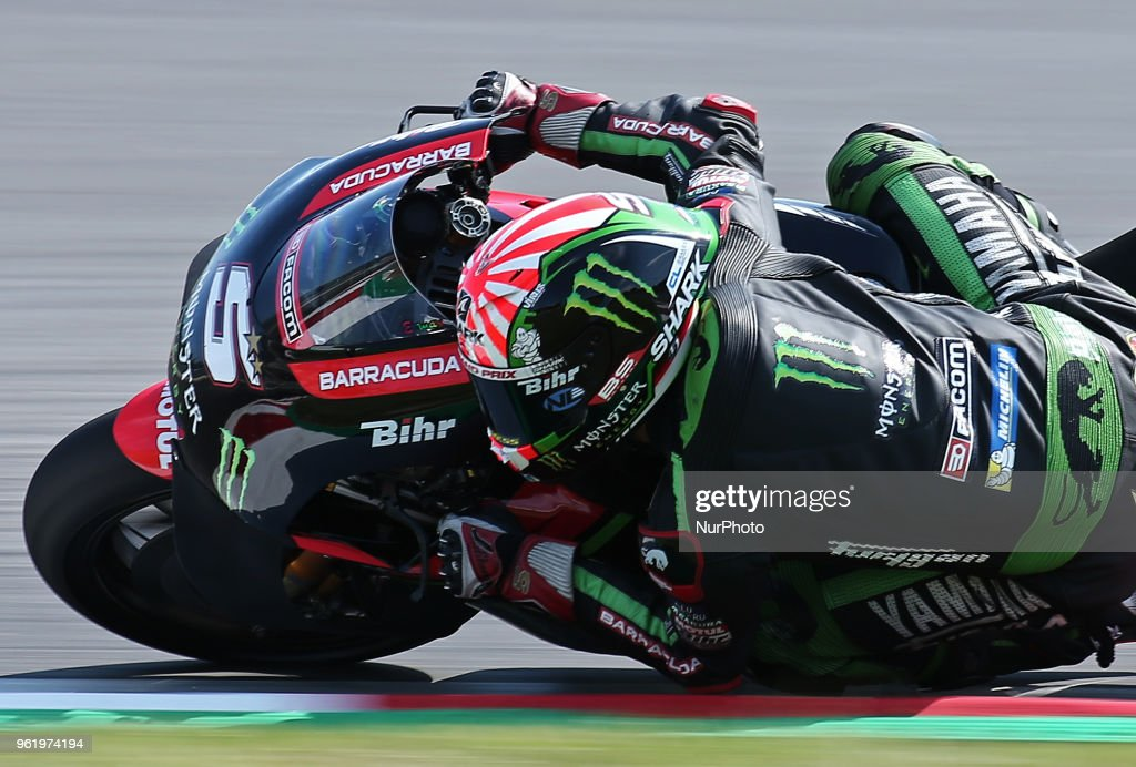 Hafizh Syahrin (Honda) during the Moto GP test in the Barcelona Catalunya Circuit, on 23th May 2018 in Barcelona, Spain. --