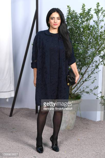 Hafsia Herzi attends the Chanel Haute Couture Spring/Summer 2020 show as part of Paris Fashion Week on January 21, 2020 in Paris, France.