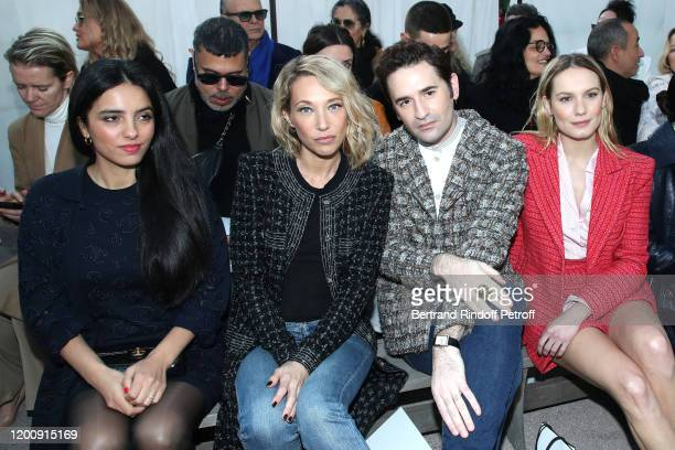 Hafsia Herzi Laura Smet Nicolas Maury and Ana Girardot attend the Chanel Haute Couture Spring/Summer 2020 show as part of Paris Fashion Week on...