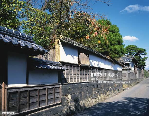 hagi castle,  castle town,  yamaguchi prefecture,  japan - 山口県 ストックフォトと画像