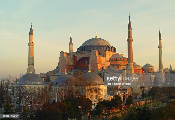 Hagia Sofia at dawn