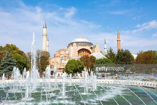 Hagia Sofia in Sultanahmet district, Istanbul