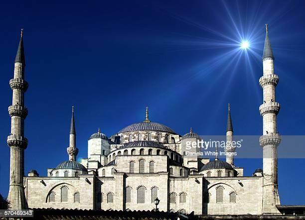 Hagia Sofia in the moonlight
